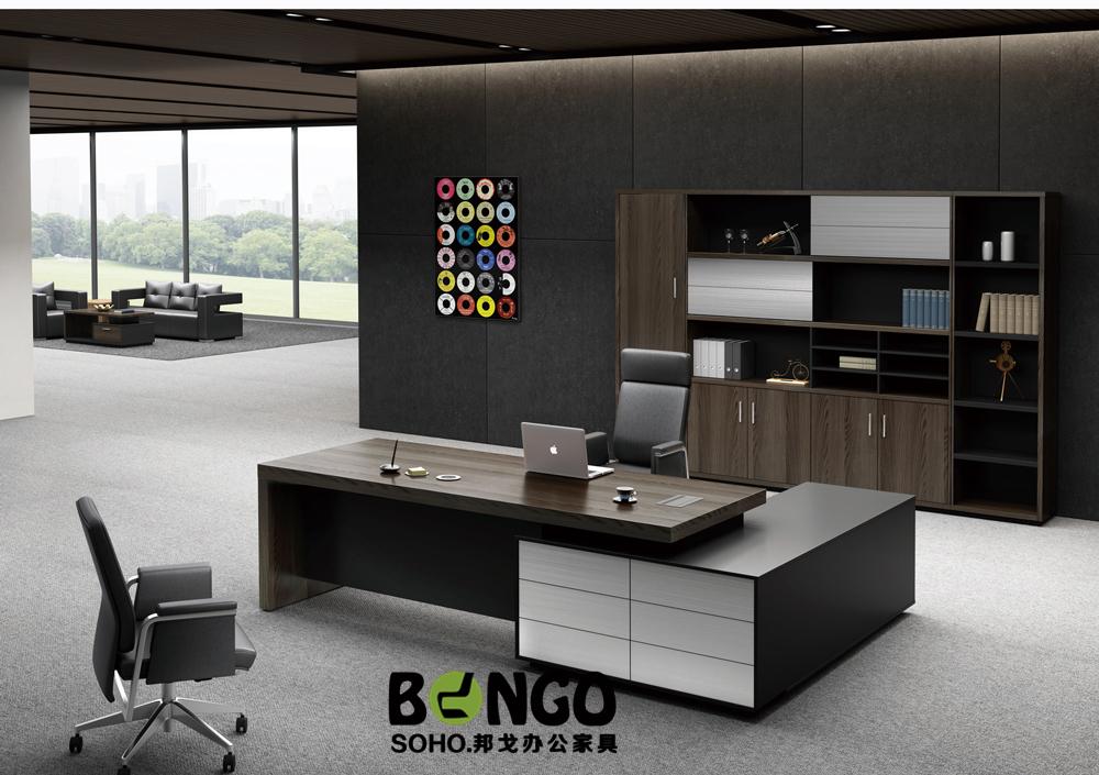 板式现代总裁办公桌 BG-ZCK1703