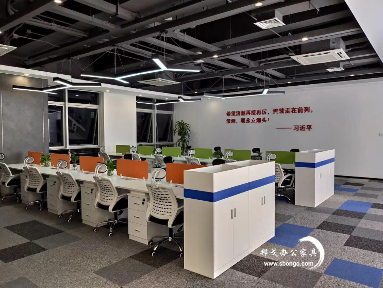 廈門浪潮科技辦公家具整體配套方案