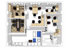 員工辦公家具配置解決方案