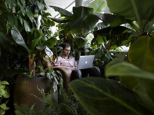探訪谷歌蘇黎世總部辦公空間工作環境