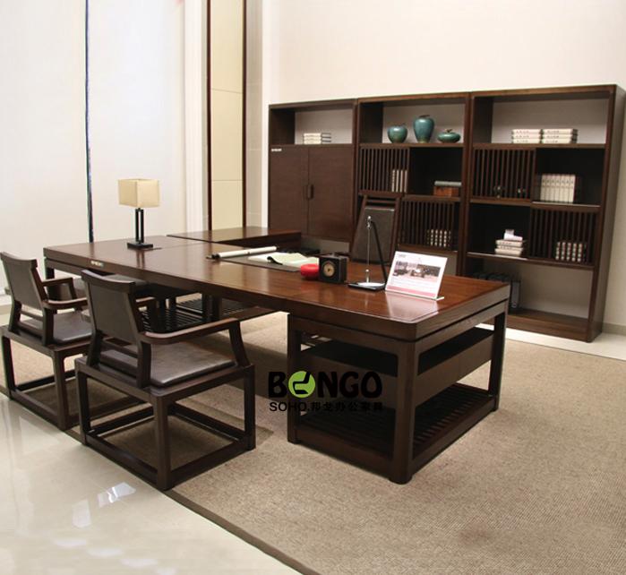 板式现代总裁办公桌 BG-ZCK1605