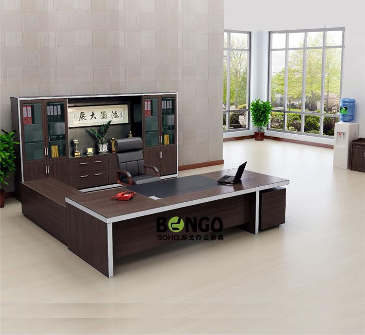 板式现代总裁办公桌 BG-ZCK1616