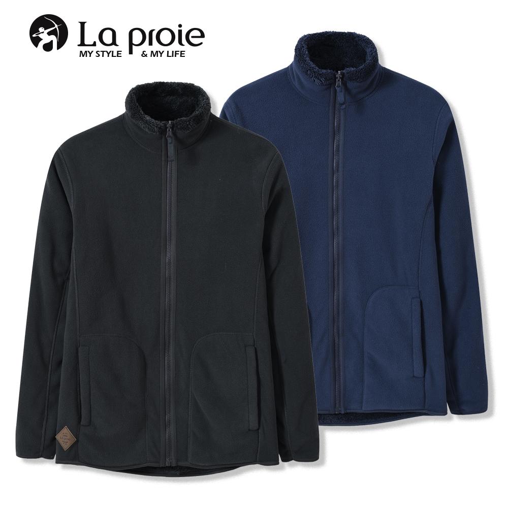 男式立领御寒抓绒外套(两色-男式一件两穿保暖抓绒外套)-CGA971540
