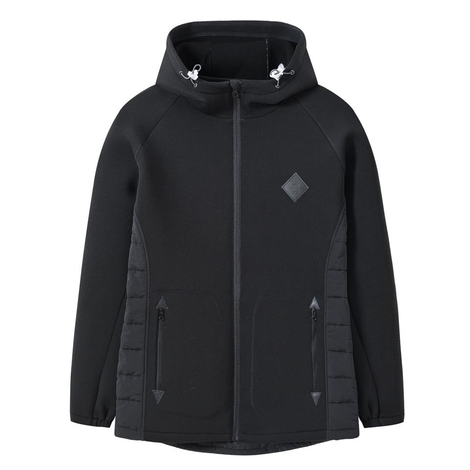 男式休闲拼接空气层外套(两色-男式空气层羽绒面料拼接外套)-CGA971528