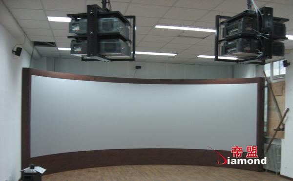 金属特效投影幕系统