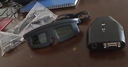 3D液晶立体眼镜套装(新版)外置型