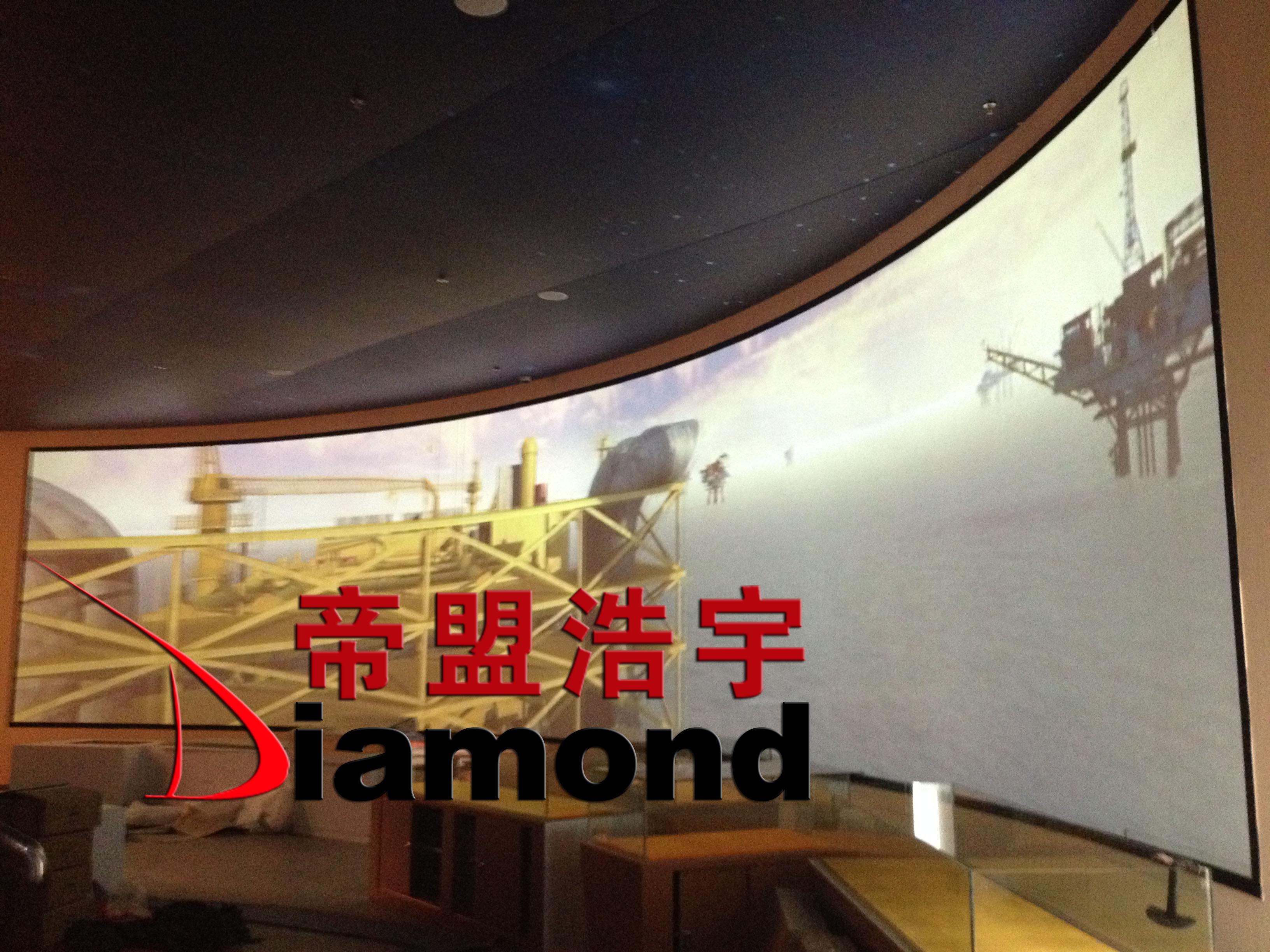 环幕影像工程显示系统
