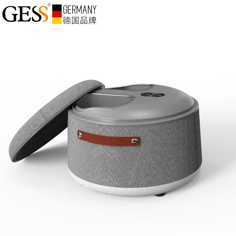 德国GESS7603足疗机穴位足底脚底小腿气囊加热家用揉捏按摩器仪
