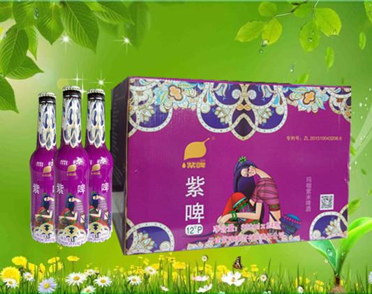 玛咖紫米啤酒 330ml