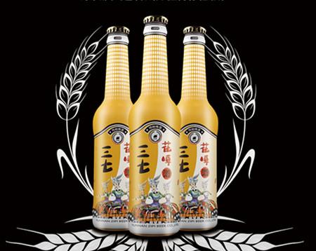 三七花啤酒