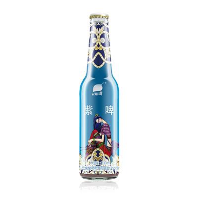 紫啤民族特色微醺款 瓶裝 8°P 330ml