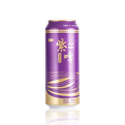 玛咖紫米啤酒 500ml 罐装