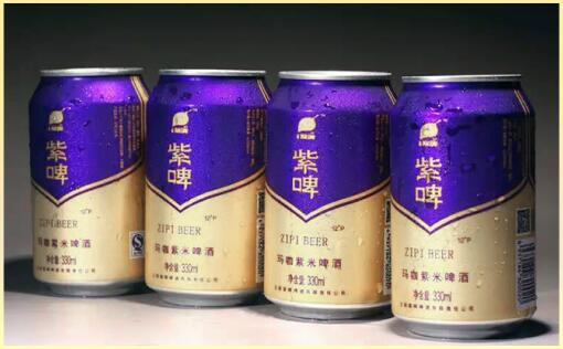 玛咖紫米啤酒 建议零售价:18元/听