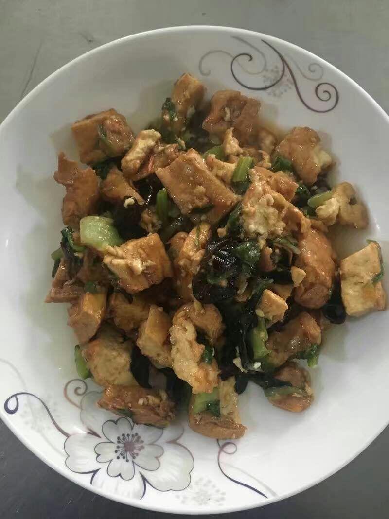 第十六周美食    家常豆腐
