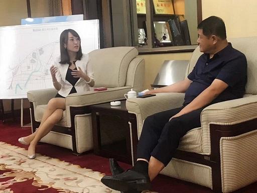 中财融商总经理邱滢霏访问河北迁安市政府 | 【融商动态】