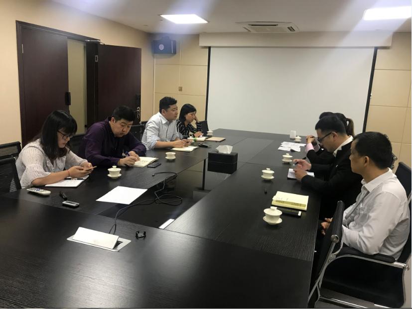 冯大任董事长赴成都市阿尔刚雷公司调研 | 【融商动态】