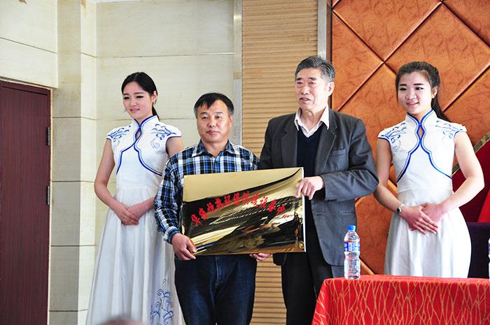 环保部领导(刘玉凯)为我单位揭牌