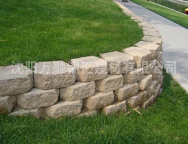 钻石挡土墙