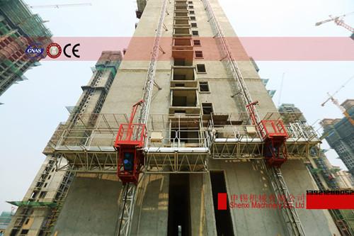 附着式施工升降平台(单桅柱安装结构)