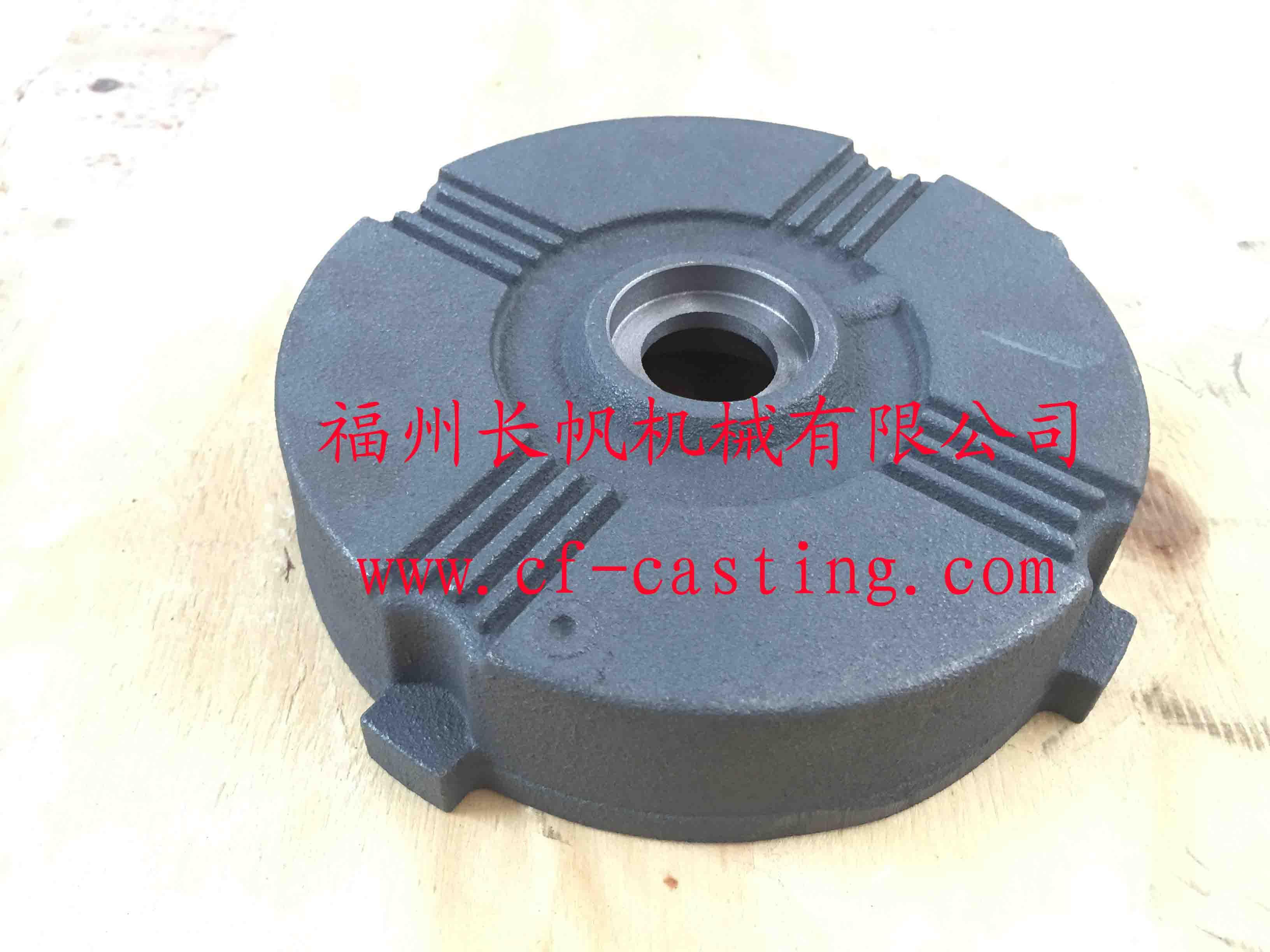 WEA90工业电机后盖  CF 长帆 CF灰铁铸造 CF灰铁铸件 CF水泵铸造铸件