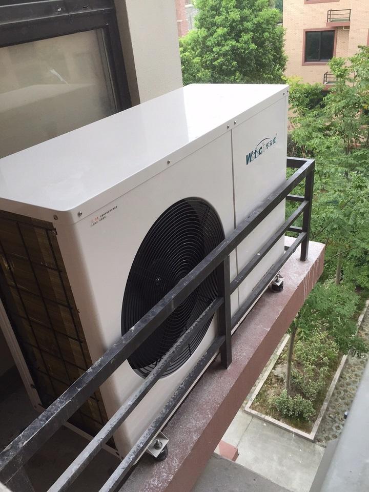 空气源热泵地暖实际案例