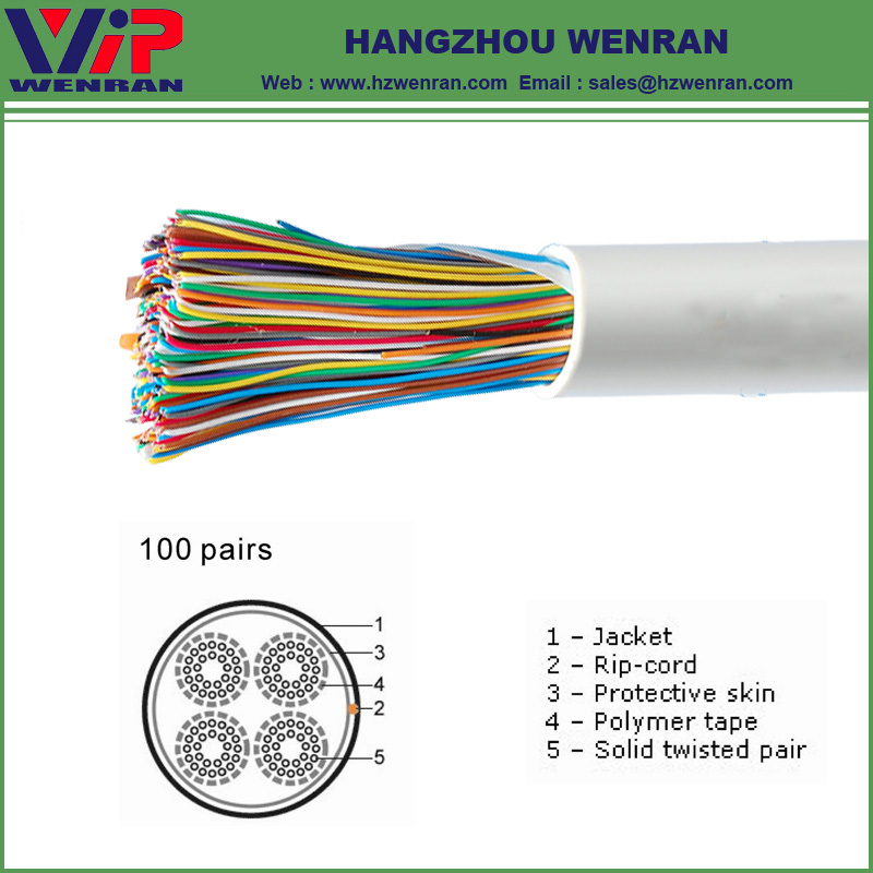 100 Pairs Telephone Cable