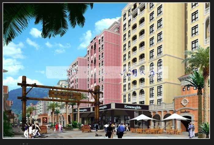 平湖海洋花園商業街
