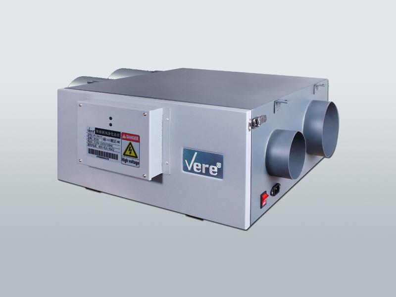 MS系列双微热回收新风净化系统