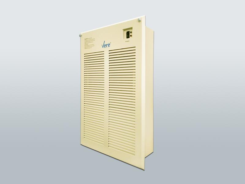 MF系列驻极微静电回风百叶型风盘净化机