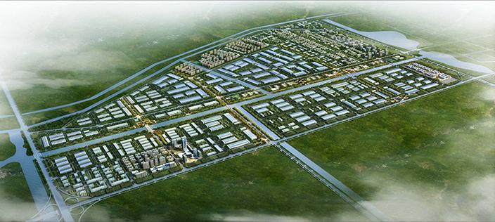 中小企业园-总体鸟瞰图