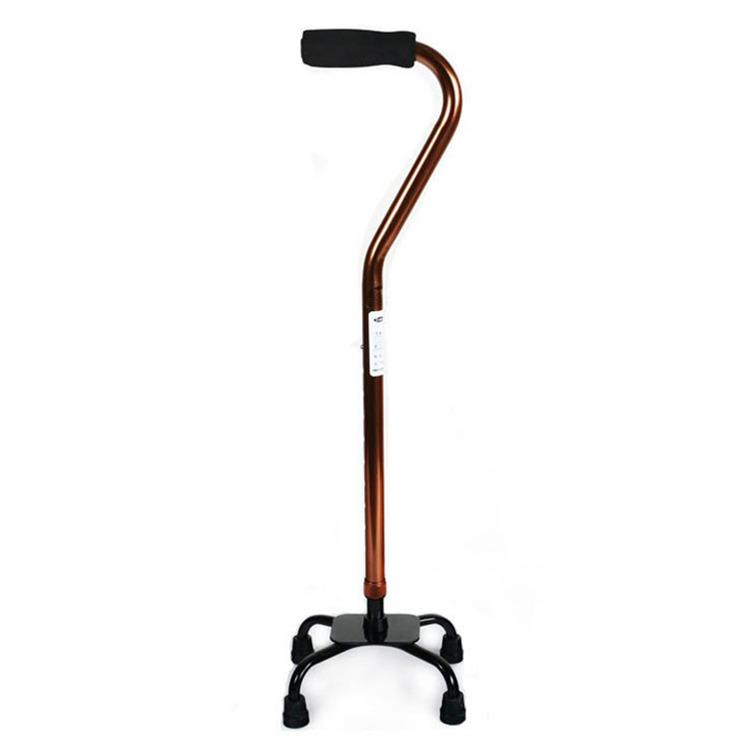 佛山加厚铝合金四脚拐杖