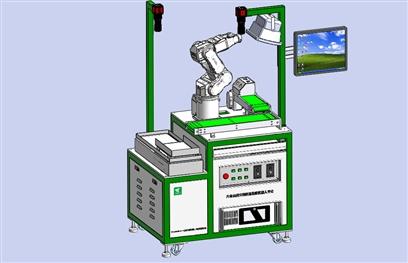 六轴工业机器人应用实训平台