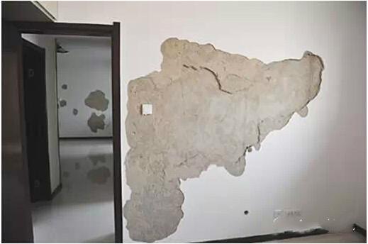 墙面空鼓与裂缝的原因分析和防治措施
