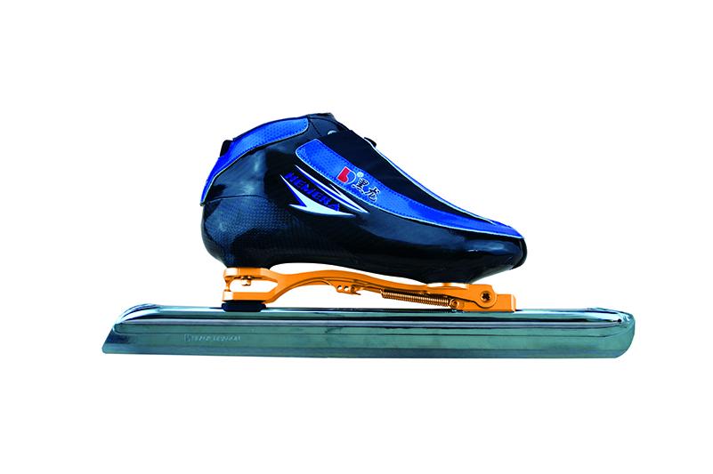 XS3216-01-2初级大道速滑刀鞋【二层碳】 光亮神  蓝