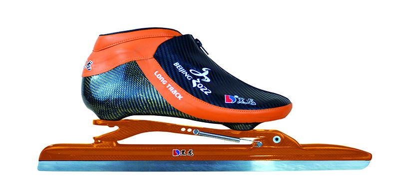 XS4216-01-1 特初级大道速滑刀鞋 【奥运款】 黄