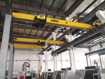 可以降低起重机对厂房结构的