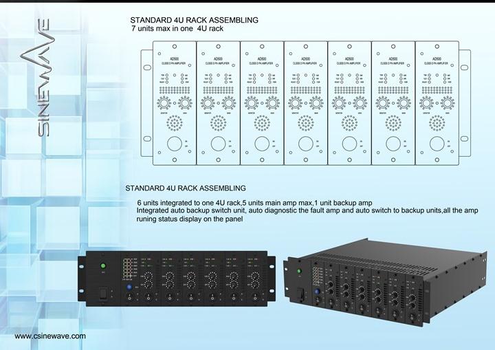 Sinewave electronic technology coltd sinewave public address amplifier array completed publicscrutiny Choice Image