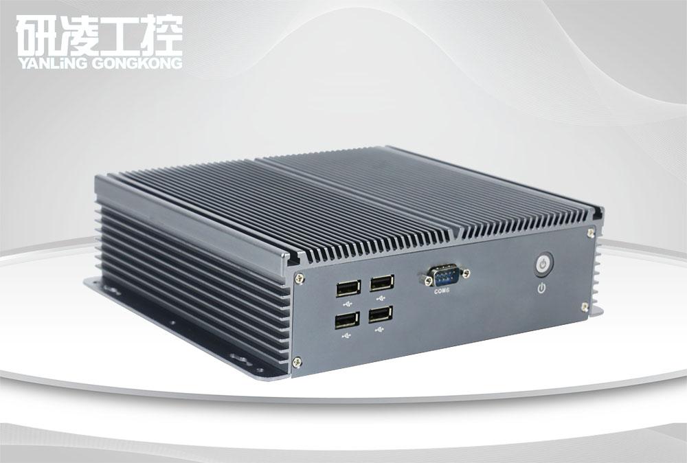 IBOX-206 J1900 嵌入式无风扇工业控制主机