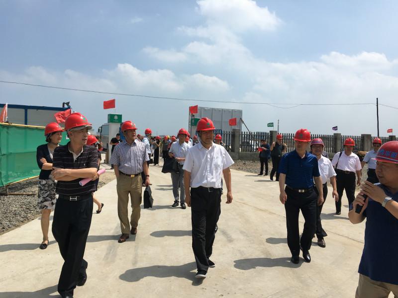 张伟副会长率企业代表团赴中国(乐亭)拉美产业园调研并考察乐亭区域能源中心项目
