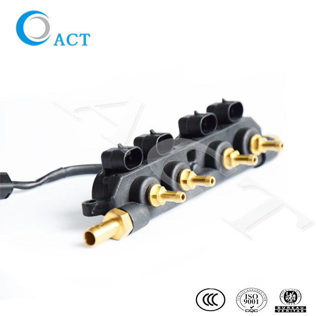 ACT New Type cng lpg injector rail