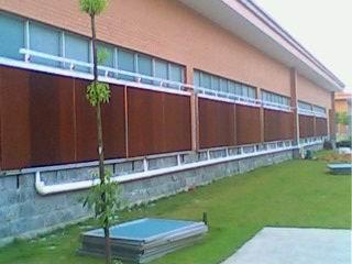 工厂水帘墙