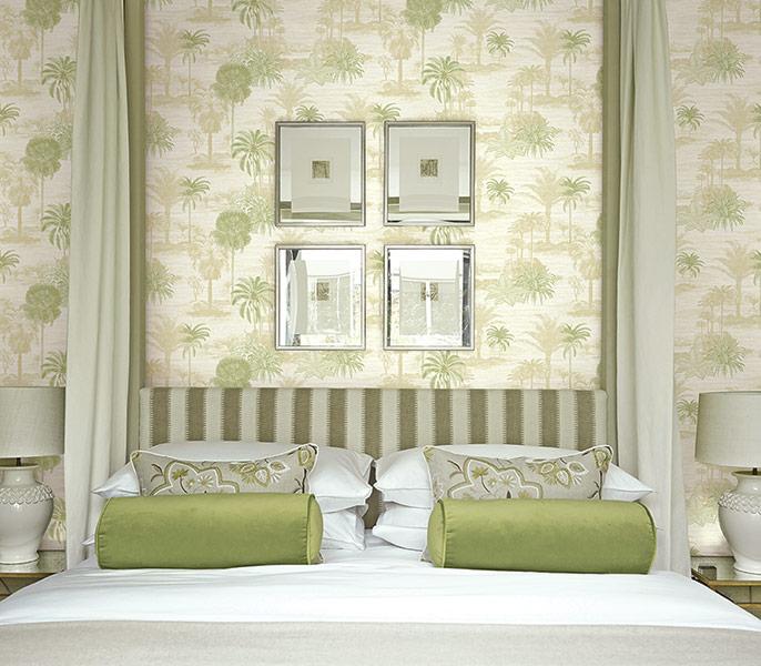 不同壁布对于卧室的重要性