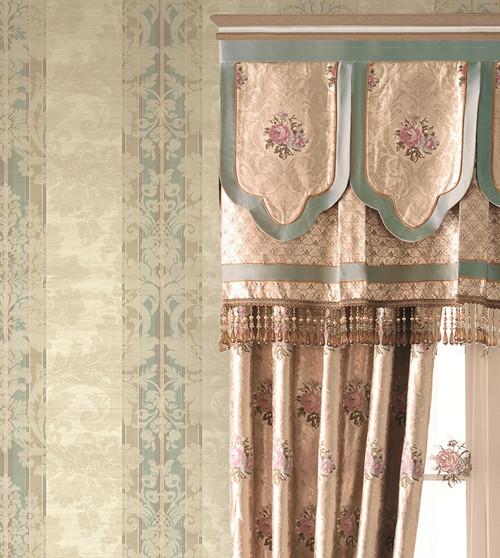 纸《萨顿宫》&布艺《A6》系列-格莱美墙纸布艺 触动感官的好软装 图片