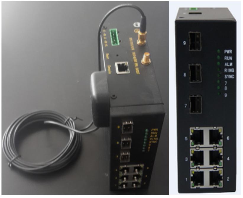 PTP-V2网络时间同步单元