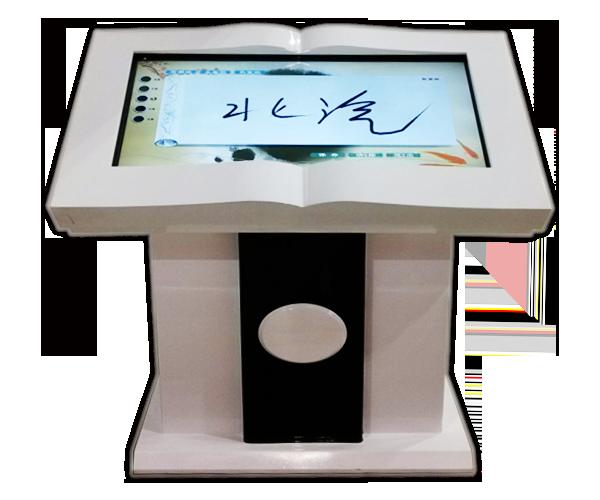 电子签名系统又叫电子留言系统、电子留言台、电子签名墙、笔锋签名等,是一个利用先进的数字手写技术、图像识别技术和多媒体软件技术提供集签名、拍照、留言及信息循环播放等于一体的高科技产品。来访者可以在液晶屏上进行自由的书写、签名、发表参观感言、提写宝贵意见、留下珍贵纪念。多媒体留言板以图片模式对参观者板书内容记录存储,使参观者写画在手写屏上的任何文字、图形或插入的图片都可以被保存至硬盘存储设备。电子留言墙还可以配备摄像头,游客可自助拍摄视频,计算机会自动将所拍视频记录在硬盘中,供工作人员和其他游客查询、浏览。