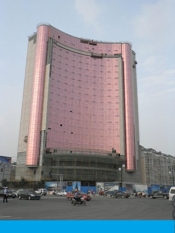 山西大同国宾酒店加固改建工程