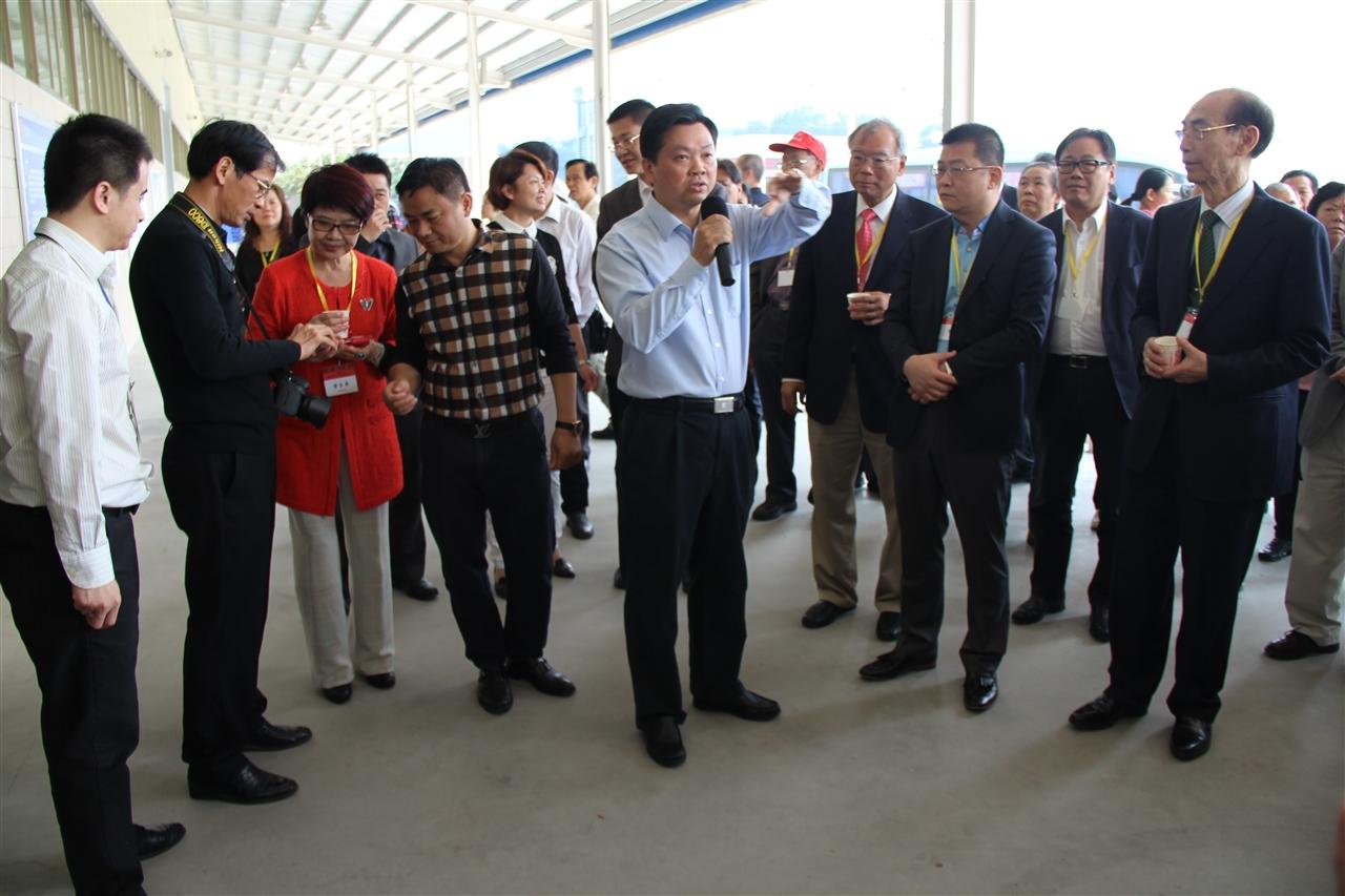 香港嘉應商會訪問團蒞臨我司考察訪問