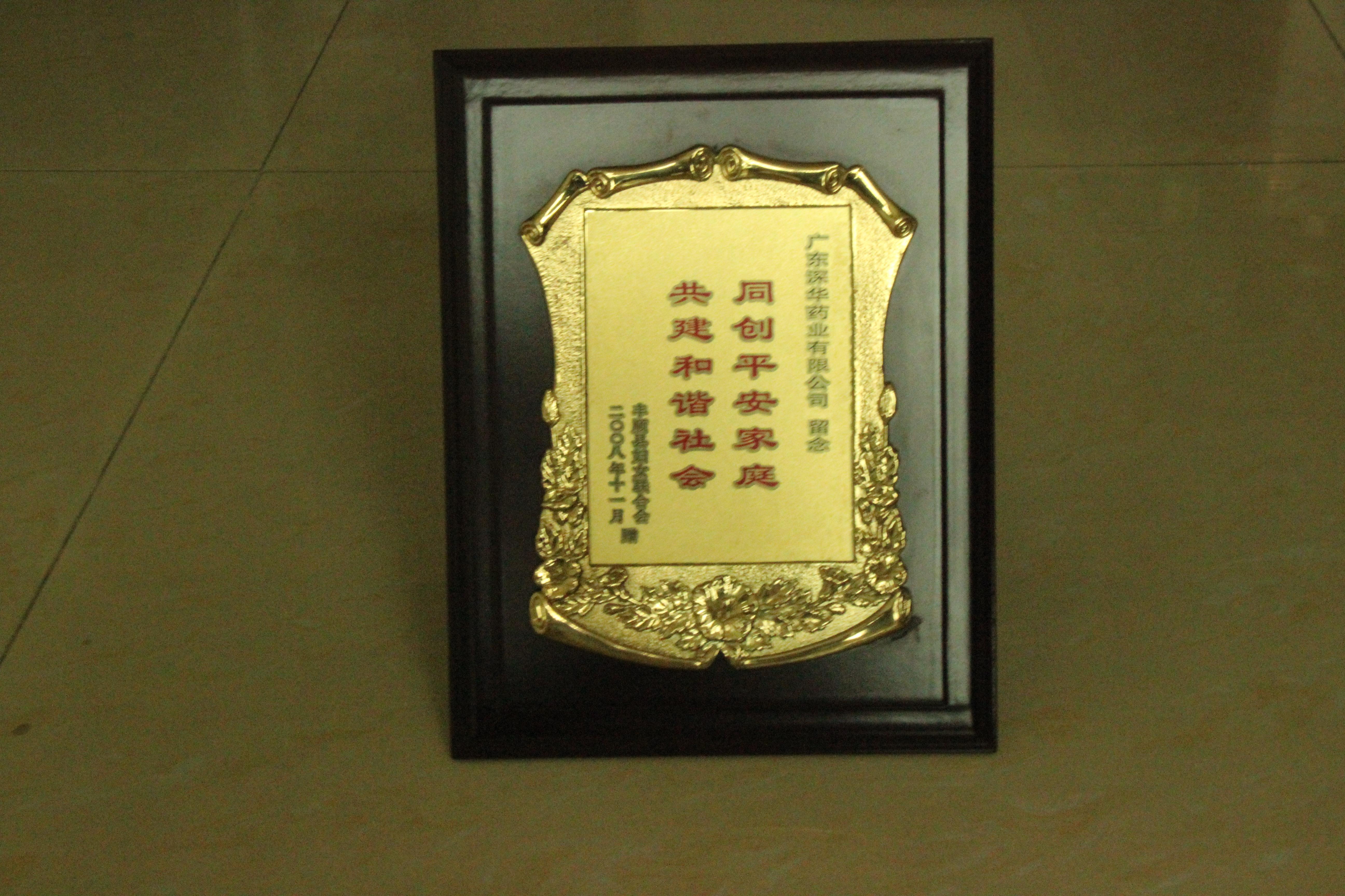 2008同创平安家庭 共建和谐社会(丰顺县妇女联合会)