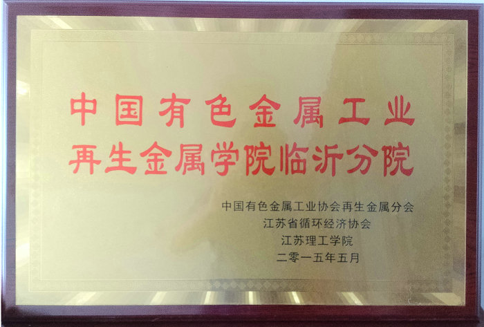 中国有色金属工业再生金属学院临沂分院