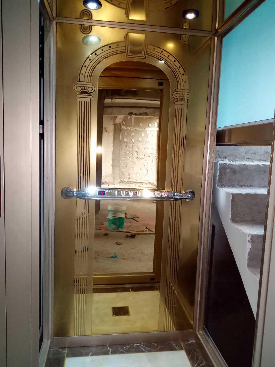 别墅电梯安装实例04
